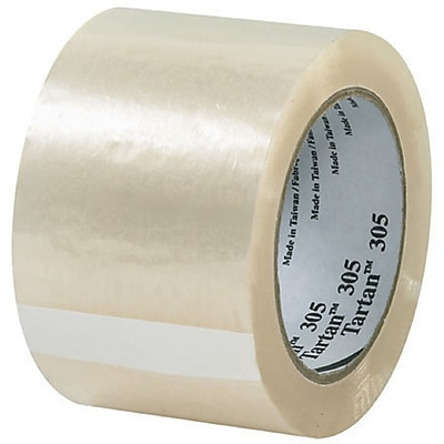 Scotch® #305 Acrylic Packing Tape, 3