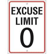 Trend Enterprises® ARGUS® Poster, Excuse Limit 0