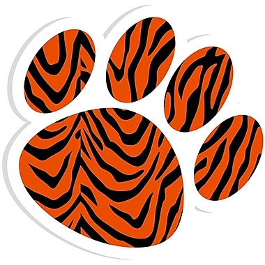 Ashley® Magnetic Whiteboard Eraser, Tiger Paw