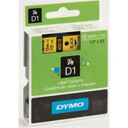 DYMO® 45018 High-Performance Permanent Self-Adhesive Polyester Label Tape is great for Label Makers, Yellow