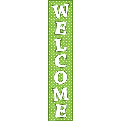 Teacher Created Resources Banners, Polka Dots Welcome