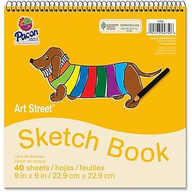 Pacon® Art Street® White Drawing Paper Pad, 9