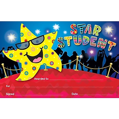 Creative Teaching Press CTP1318 Star Student Award, Assorted