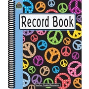 Teacher Created Resources Peace Signs Record Book (TCR2725)