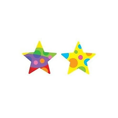 Trend Enterprises® SuperShapes Stickers, Star Medley