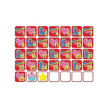 Creative Teaching Press™ Calendars Sets, Poppin' Patterns® Seasonal, February