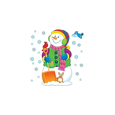 Trend Enterprises Bulletin Board Set, Super Snowman, 24/Pack (T-8127)