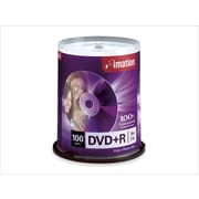Imation 100/Pack 16X 4.7GB DVD+R, Spindle