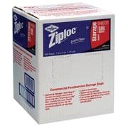 Ziploc® Storage Bags, 1 Quart, Clear, 1.75 Mil, 500/Box