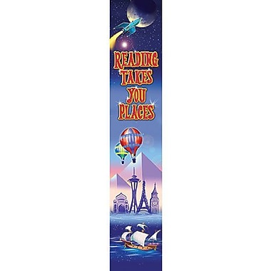 North Star Teacher Resources Straight Reading Takes You Places Banner (NST1211)