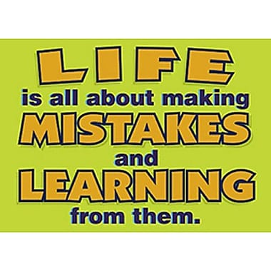 Trend Enterprises® ARGUS® Poster, Life Is All About Making