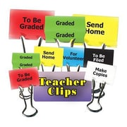 Top Notch Teacher Products® Things To Do Teacher Clip Set, 1-1/4""