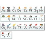 North Star – Ensemble de babillards Teacher Resources, l'alphabet, des lignes de calligraphies tradit., 7/paquet (NST9009)