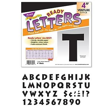 Trend Enterprises® Ready Venture Uppercase Letter, 4