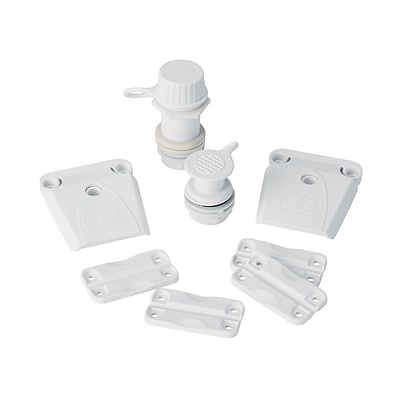 Igloo® White Plastic Ice Chest Parts Kit, Used with All Ice Chests