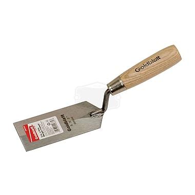 Goldblatt® Flexible Rectangular Margin Trowel, 5-inch (L) x 2-inch (W), Carbon Steel