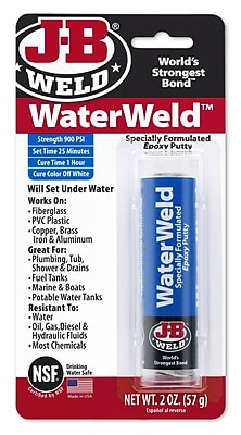 J-B Weld Water Weld Compounds, Tube