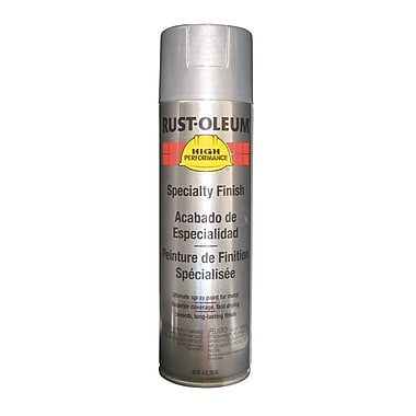 HIGH PERFORMANCE® Aerosol Can Enamel, Acrylic, Silver Aluminum, 14 oz.