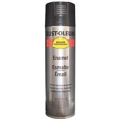 HIGH PERFORMANCE® 15 oz Aerosol Can Enamel, Acrylic, Black, 14 sq ft Coverage