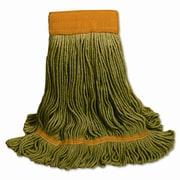 """O'Dell® Recycled PET Mop Head, 5"""" Headband, Green"""