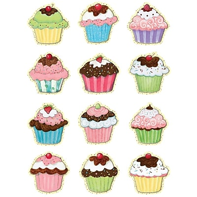 Teacher Created Resources Mini Accents, Susan Winget Cupcakes