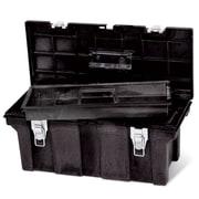 Rubbermaid® Black Structural Foam Tool Box, 26 in (L) x 11 1/2 in (W) x 11 1/8 in (H)