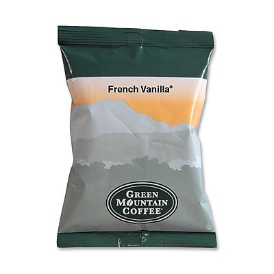 Green Mountain Coffee® French Vanilla Coffee Packs, 2.2 oz., 50/Ct