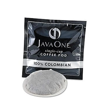 Java One® Single Cup Colombian Supremo Ground Coffee, Regular, .3 oz., 14 Pods