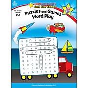Carson-Dellosa Puzzles and Games: Word Play Resource Book, Grades K - 1