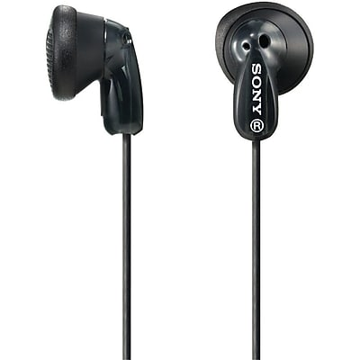 Sony MDR-E9LP Lightweight Earbuds, Black