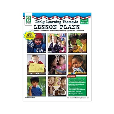 Key Education Early Learning Thematic Lesson Plans Resource Book