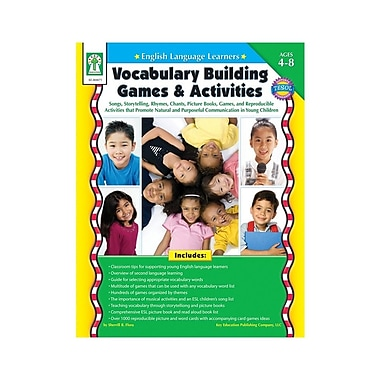 Key Education English Language Learners: Vocabulary Building Games & Activities Resource Book