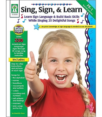 Key Education Sing, Sign, & Learn! Resource Book