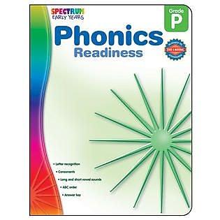Spectrum Phonics Readiness Workbook