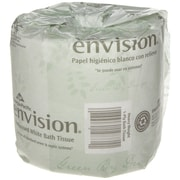 Envision® 1-Ply Inner Wrapped Embossed Toilet Paper by GP PRO, White, 550 Sheets/Roll, 80 Rolls/Case (19881/01)