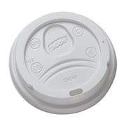 Dixie® Dome Plastic Hot Cup Lid by GP PRO, Medium, Black, 1000/Carton (DL9540)