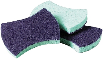 3M Scotch-Brite™ Dual-Action Power Sponges, Pack of 20 (MMM3000)