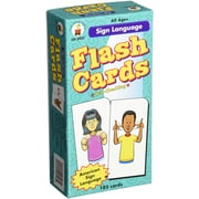Carson-Dellosa Sign Language Flash Cards