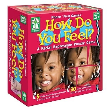 Key Education How Do You Feel? Board Game