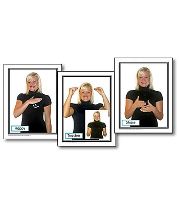Key Education Sign Language in the Early Childhood Classroom Learning Cards