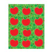 Carson-Dellosa Apples Shape Stickers, 72 Stickers Per Pack