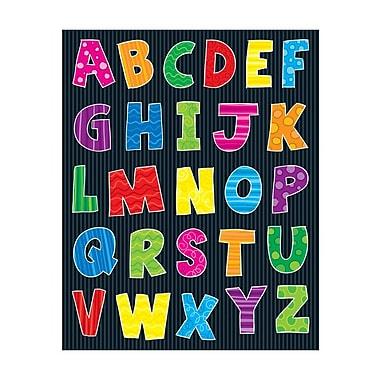 Carson-Dellosa Alphabet Shape Stickers