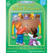 Carson-Dellosa Dot-To-Dot Bible Pictures Resource Book, Grades 1 - 3