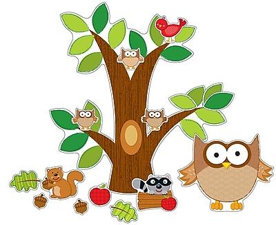 Carson-Dellosa Owl Bulletin Board Set