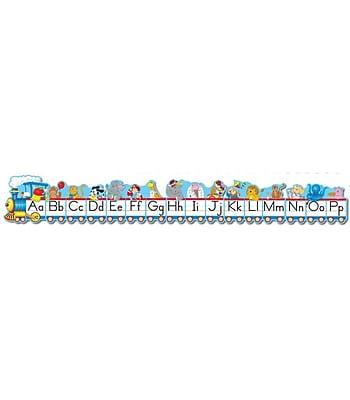 Carson-Dellosa Alphabet Train Bulletin Board Set