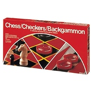 Pressman® Toy Early Learning Game, Checkers/Chess/Backgammon