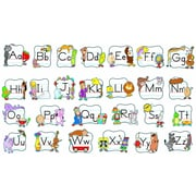 Carson-Dellosa Alphabet: Traditional Manuscript Bulletin Board Set