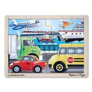 Melissa & Doug® Wooden Jigsaw Puzzles, On the Go