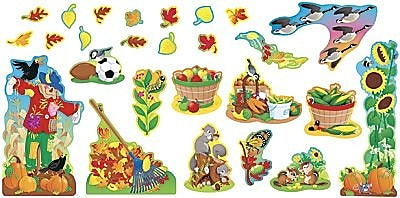 Trend® Bulletin Board Sets, Seasonal, Fall Things