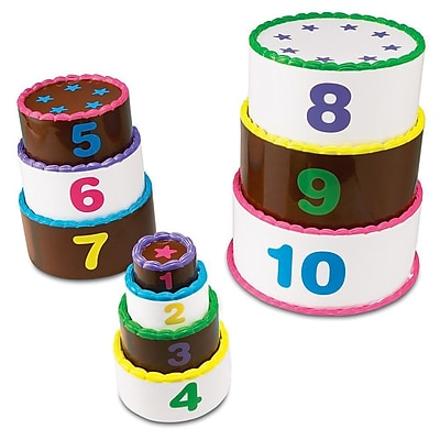 Learning Resources® Smart Snacks® Stack and Count Layer Cake